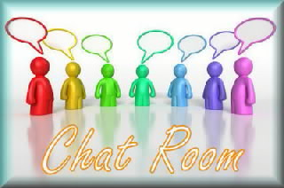 Chat room logo 001